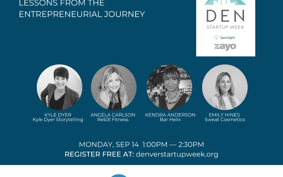 Three Denver Entrepreneurs discussing Resilience, Risk & Reward
